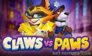 казино X играть в слот Claws vs Paws