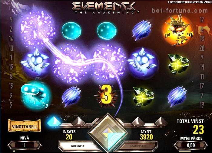 бесплатный автомат Elements в Casino-X