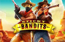Sticky Bandits игра в Казино Икс
