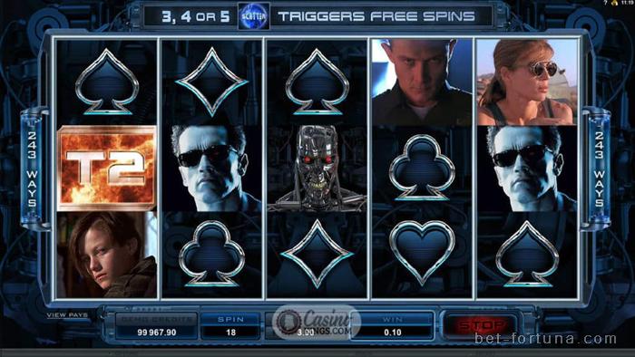 Онлайн клуб Casino-X со знаменитым слотом Терминатор 2